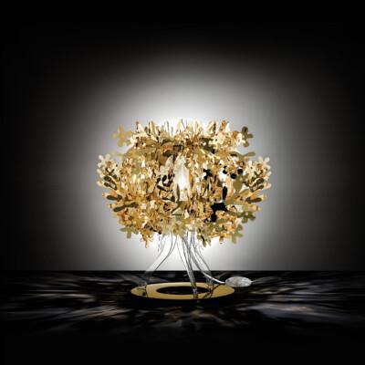 FIORELLINA GOLD, SILVER, COPPER TABLE