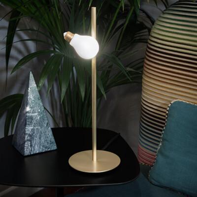 IDEA TABLE - Brass